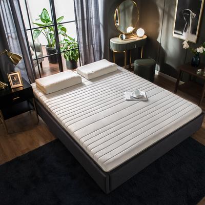 2019年新款水晶绒乳胶床垫高弹记忆海绵抗压耐压床垫 0.9*2.0米 水晶绒绿9cm