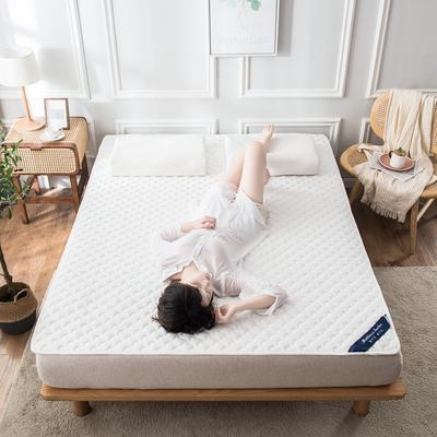 2020年新款針織乳膠床護墊防滑席夢思保護墊榻榻米墊 0.9*2.0米 白色