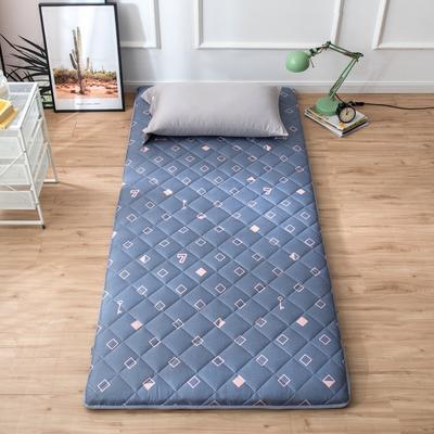 2020年春季新款床褥榻榻米地墊單人學生床墊宿舍90cm加厚 0.9*1.9米 怦然心動