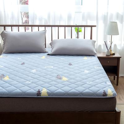 2020年春季新款床褥榻榻米地墊學生床墊雙人加大150cm1.8m 0.9*1.9米 圣誕樹