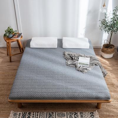 2020新款乳膠硬質棉床墊加厚單人雙人床褥 單邊款 90*200cm(厚度5cm) 繁星點點