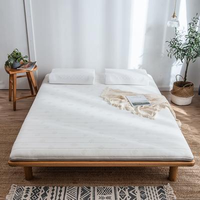 2020新款乳膠硬質棉床墊加厚單人雙人床褥 單邊款 90*200cm(厚度5cm) 金枝玉葉