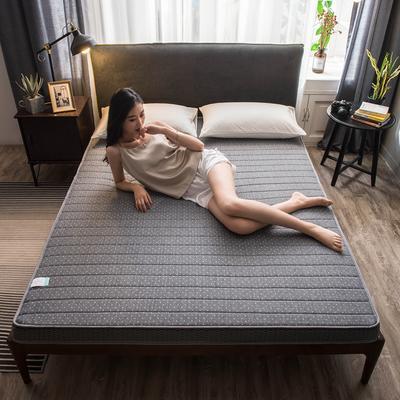 2020新款乳膠硬質棉床墊加厚單人雙人床褥 立體款 90*190cm(厚度5cm) 立體款-繁星點點