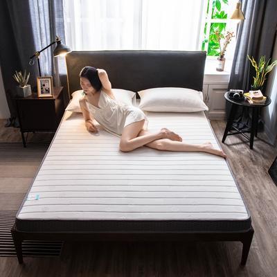2020新款乳膠硬質棉床墊加厚單人雙人床褥 立體款 90*200cm(厚度5cm) 立體款-金枝玉葉
