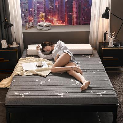 2020新款热款特价硬质棉乳胶床垫 0.9*1.9m(5cm厚) 针织-鹿角