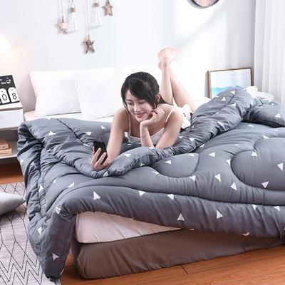 芦荟棉四季被(模特图) 100x150cm(2斤) 爱巢