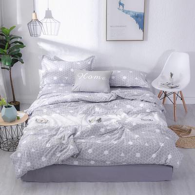 2019水洗棉夏被16个花色 单枕套48*74cm 蜜蜂