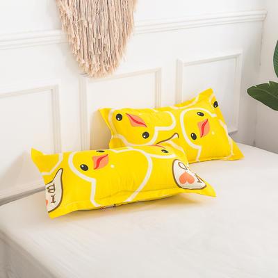 芦荟棉单枕套 45*75cm/只 鸭