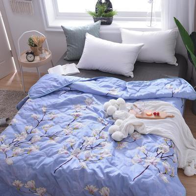 蘆薈棉夏被 70x100cm(花型隨機) 玉蘭枝