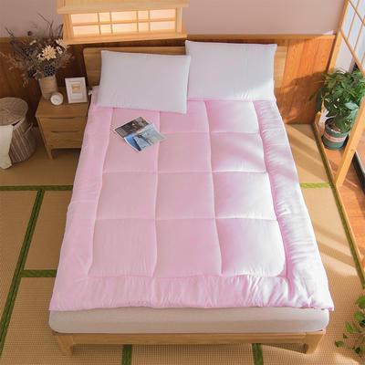 芦荟棉软垫被 90*200cm 粉