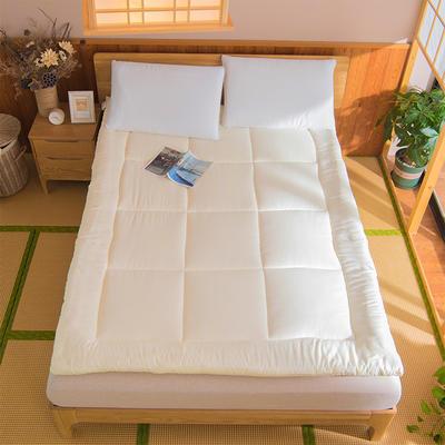 芦荟棉软垫被 90*200cm 米黄