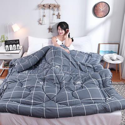 芦荟棉四季被(模特图) 150x200cm(2斤) 皇冠