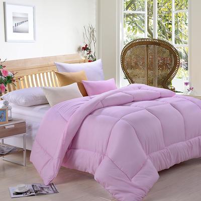 纯色磨毛被 150x200cm(4斤) 粉色