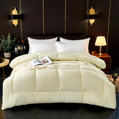 芦荟棉四季被 150x200cm  2斤 米黄
