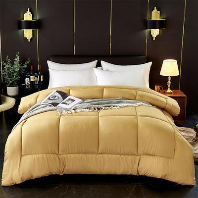 芦荟棉四季被 150x200cm  2斤 驼色