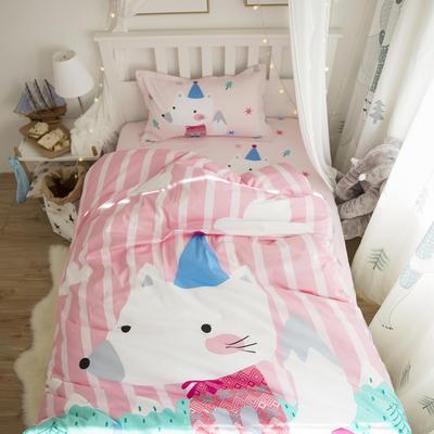 新款纯棉全棉卡通大版单人宿舍0.9m床上下铺学生三件套 床单款三件套 1.2m(4英尺)床 圣诞日记