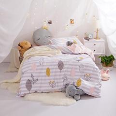 (总)新款学生宿舍床品全棉13372简约单人床单款三件套(小清新系列) 1.2m床床单2.0 春意