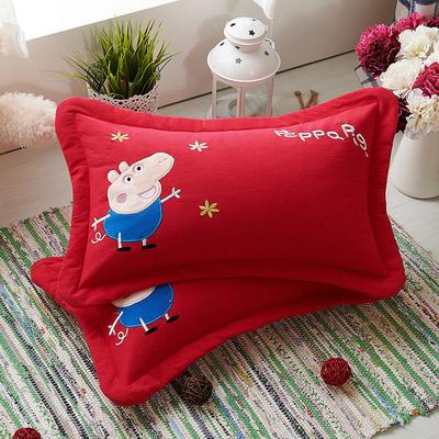 佩奇荞麦枕 25*36cm大红