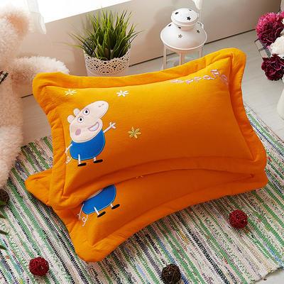 佩奇荞麦枕 32*50cm黄