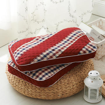 水洗双拼枕  荞麦枕