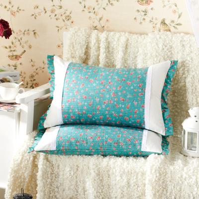 田园绗缝枕 荞麦枕 35*55cm爱丽丝梦境