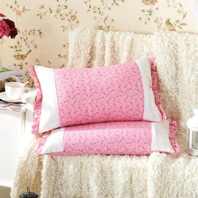 田园绗缝枕 荞麦枕 35*55cm公主花园
