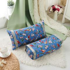 调节工艺枕 30*60cm(喜上眉梢--蓝)