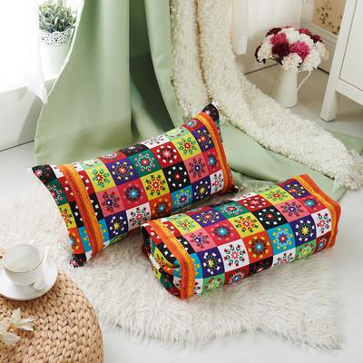 调节工艺枕 30*60cm(花相容)