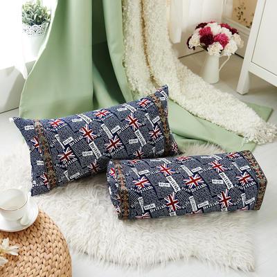 调节工艺枕 30*60cm(英伦风尚)