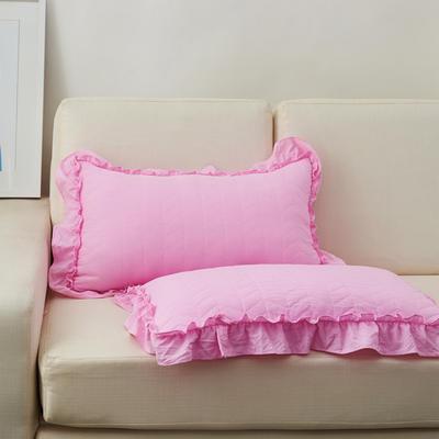 超柔舒适枕(36*60cm) 粉色