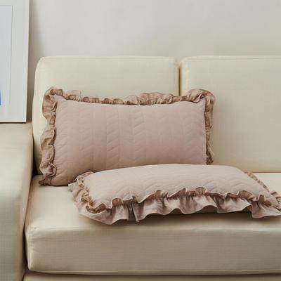 超柔舒适枕(36*60cm) 卡其色