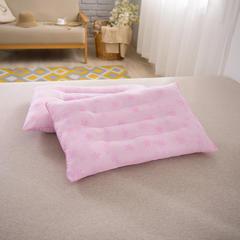 2017 新款保健枕十二颗粒磁疗枕 粉印花磁疗枕(48*74cm)