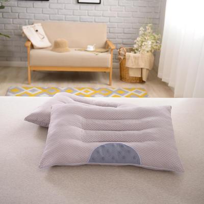 2017 新款保健枕十二颗粒磁疗枕 灰网颗粒磁疗枕(48*74cm)