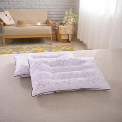 2017 新款保健枕十二颗粒磁疗枕 紫印花磁疗枕(48*74cm)