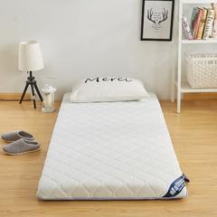 2018新款 针织棉单边床垫(6公分床垫) 200*220 白色