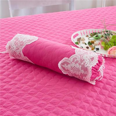 2017 新款糖果枕 糖果枕(含芯) 花的嫁衣 -玫红