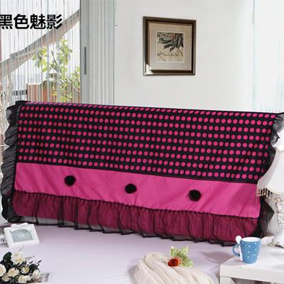 2017 新款床头罩-花卉系列 1.2米 黑色魅影