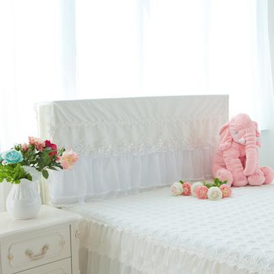 2017 新款水晶之恋-床头罩 1.2米 米白色
