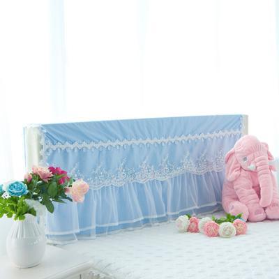 2017 新款水晶之恋-床头罩 1.2米 天蓝色