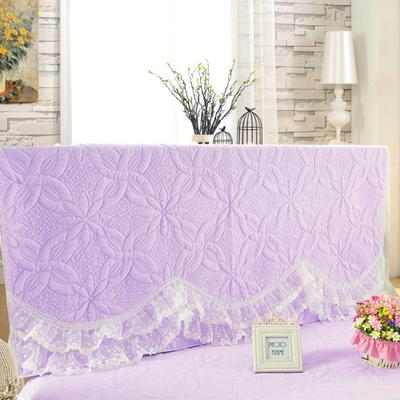 2017 新款公主恋人-夹棉系列床头罩 1.2米 公主-紫