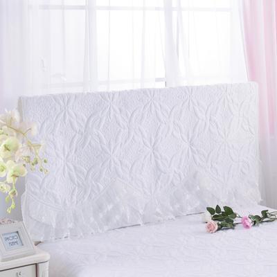 2017 新款公主恋人-夹棉系列床头罩 1.2米 公主-白