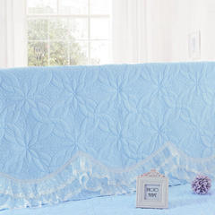 2017 新款公主恋人-夹棉系列床头罩 1.2米 公主兰