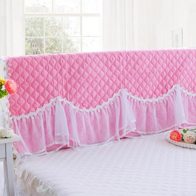 2017 新款花的嫁衣-夹棉系列床头罩 1.2米 水粉色