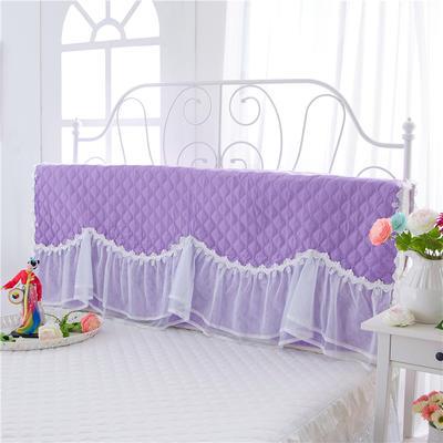 2017 新款花的嫁衣-夹棉系列床头罩 1.2米 浪漫紫