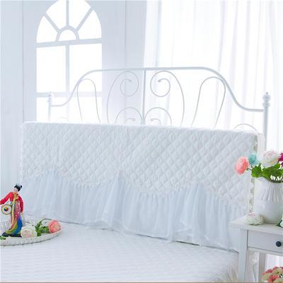 2017 新款花的嫁衣-夹棉系列床头罩 1.2米 米白