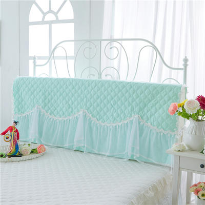 2017 新款花的嫁衣-夹棉系列床头罩 1.2米 水绿