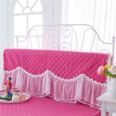 2017 新款花的嫁衣-夹棉系列床头罩 1.2米 玫红