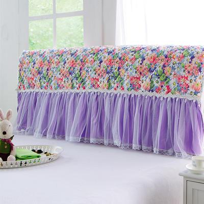 2017 新款小清新夹棉-床头罩 1.2米 伊甸园