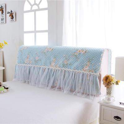 2017 新款小清新夹棉-床头罩 1.2米 宁静初开