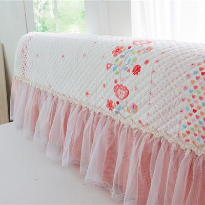 2017 新款小清新夹棉-床头罩 1.2米 诺薇花开